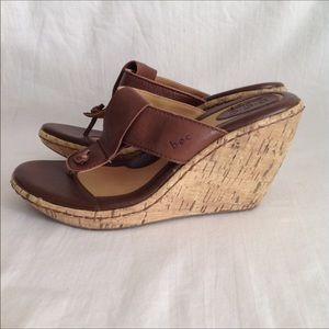 e53d31a44d80 B.O.C. Cork Wedge Sandals 7